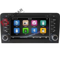 Quality Capacitive Screen Audi Car Dvd Player , Double Din Car Media Player With DVD Speed Reading for sale