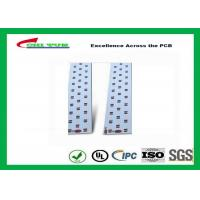 Quality Long LED Lights PCB , Aluminum PCB White Solder Mask High-frequency PCB for sale