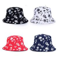 Quality 100% cotton Double sided cheap customized bulk printing folding bucket hat size of 58-60. for sale