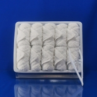Quality Hemmed Sewing Woven Airline Towel Checker for sale