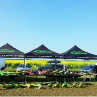 Quality Outdoor Customized Tents For Events Full Color Printing Aterproof Sunproof for sale