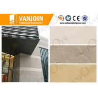 China Artificial Stone Insulated Building Panels , Concrete Wall Panels Durability on sale