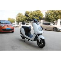 Quality White Color Sleek Design Electric Moped For Adults 1200W DC Brushless Motor for sale