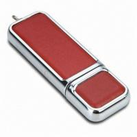 Quality Classic Leather Pen USB Flash Drive 64MB - 64GB USB 3.0 High Speed for sale