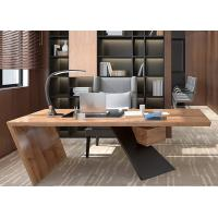 China Classic Manager Office Furniture / Wood Office Desk For Senior Executives Office on sale