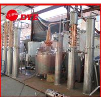 Quality 100gal alcohol commercial distilling equipment , whiskey distillation equipment for sale