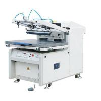 Buy LC4060/6080/6090 Flat Bed Microcomputer Screen Printing press Machine semi-automatic plane paper,plastic, glass ceramics at wholesale prices