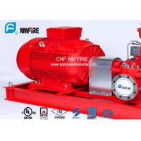 Quality 1250GPM@12bar Electric Motor Driven Fire Pump With Air / Water Cooling Method for sale