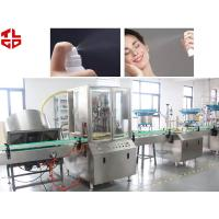 Quality Automatic Cosmetic Spray Bag On Valve Aerosol Filling Machine For Sun Spray, Water Spray for sale