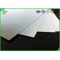 Quality 400 - 1000g Laminated Grey Board , Coated Double Side Art Glossy Paper For Making High - End Gift Box for sale