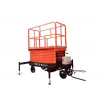 Buy Self Propelled Hydraulic Mobile Scissor Lift Table With Lifting Height 3 - 16m at wholesale prices