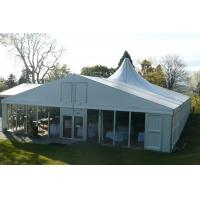 Quality Economical Large Wedding Tents With Decoration High Pressed Aluminum Alloy Frame for sale