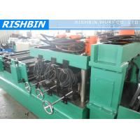 China 17 Main Rollers Slotted Channel Forming Machine CR12 with Heat Treatment Blade on sale