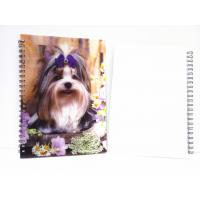 Quality Flip A4 , A5 , A6 Size 3D Lenticular Notebook Cover For Wrinting for sale