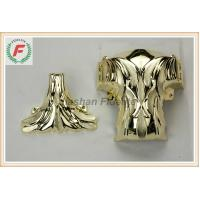 Quality Gold Silver Copper PP Or ABS Plastic Casket Corner 1# Leaf Funeral Decoration for sale