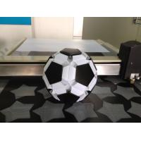 Quality Football pvc lampshade knife CNC cutting machine for sale