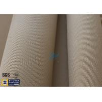 """Quality Brown Silica Fabric 1400℉ 1200G 1.3MM 36"""" High Temp Insulation Blanket for sale"""