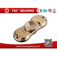 Quality Customized Aluminum / Copper / Brass Hand Spinner Fidget Toy 120-160 Seconds for sale