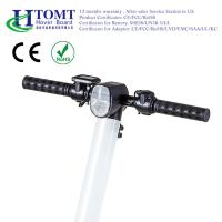 Quality HTOMT two wheel electric scooter personal transportation foldable electric scooter UL2272 for sale