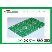 Quality Tamura Matte Green Single Sided PCB   1L FR4 1.6mm Immersion Gold PCB for sale