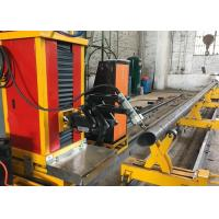 Quality with flame and plasma cutting mode stainless steel round pipe square pipe cutting machine for sale