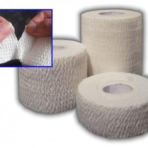 Quality Light elastic adhesive bandage medical bandage /Athletic Sport Tape for sale