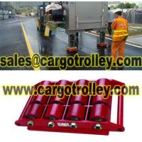 Quality Transport trolleys for moving works for sale