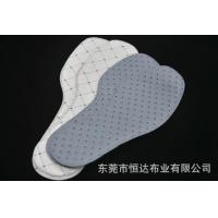 Quality Disposable Non Woven Shoe Pad / Insole / Sock Lining Size Color Customized for sale