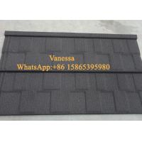 Buy cheap Against Snow Terracotta Roof Tiles size 1340*420mm / Modern Classical Tile Smoky Color from wholesalers