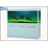 Quality Large Custom Glass Aquarium Dragon Fish Tank , Ecology Fish Tank with Filter 730 mm High for sale