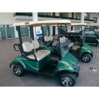 Quality Green 48V 3KW Precedent 2 Seater Golf Carts With Rear Drum Brake For Golf Courses for sale