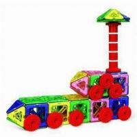 Quality Magnetic Construction Toy with Rods, Sticks and Multicolor Bars, Suitable for 3 Years Old Kids for sale