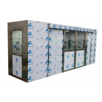 Quality Airlock Cleanroom Stainless Steel Air Shower With HEPA Filter for sale
