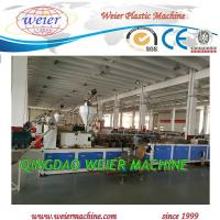 Quality 37kw 300*25mm Profile Extrusion Machine Solid Type Wall Panel for sale