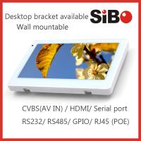 Quality Android Based Home Automation Customized 7 Inch Wall Mount Industrial Touch Panel With POE for sale