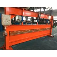Galvanized Strips Cutting Bending Machine With 70mm Shaft 1 Inch Chain