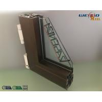 Quality Construction AA6063 T5 Aluminium Window Profiles / Wood Aluminum Structural Shapes for sale
