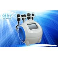 Quality 4 In 1 Ultrasonic Cavitation Body Slimming Machine / Tripolar Radio Frequency Facial Lift for sale