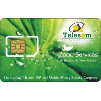 China Plastic Telecom SIM Card with 128K Java Chip for High Quality Communication on sale