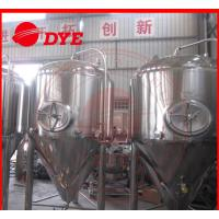 Quality 1000L Industrial Beer Brewing Equipment With Pressure Relief Valve for sale