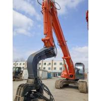 China 33T Sheet Pile Driver Used Hitachi Excavator ZX330-6 560 L Fuel Capacity on sale
