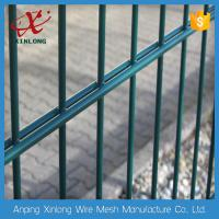 Quality Professional Double Wire Fence / Twin Wire Mesh Fencing Square Hole Shape for sale