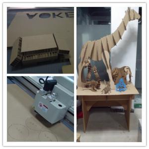 China small batch of production flute carton box cutting machine on sale
