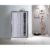 Quality Model Rooms Rectangular Shower Cabins With Tempered Glass Sliding Door for sale