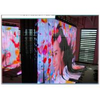 Quality P6 Flexible LED Curtain SMD3528 , Rental Flexible Video Display High Resolution for sale