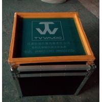 Quality Customized AluminumTool Cases12U Print Logo Rack Case Anti-shock Foam Inside for sale