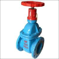Quality Sewage Resilient Seated Gate Valve Pn10 Light Weight With Corrosion Resistance for sale
