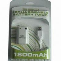 Quality Rechargeable Battery Pack for xBox 360 Game Accessories for sale