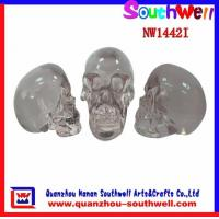 Quality Crystal Skull Head,polyresin crafts for sale