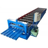 Quality Sheet Metal Glazed Tile Roll Forming Machine With 4 Tons High Capacity for sale
